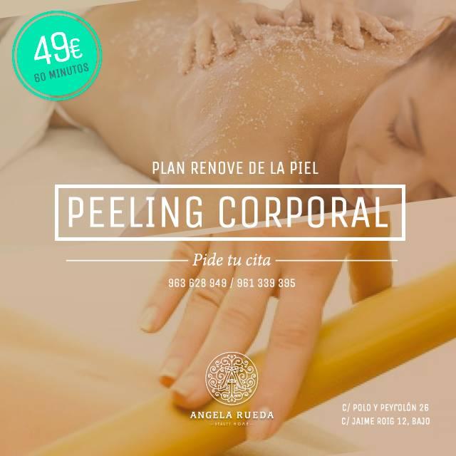 oferta de tratamiento de peeling corporal ar