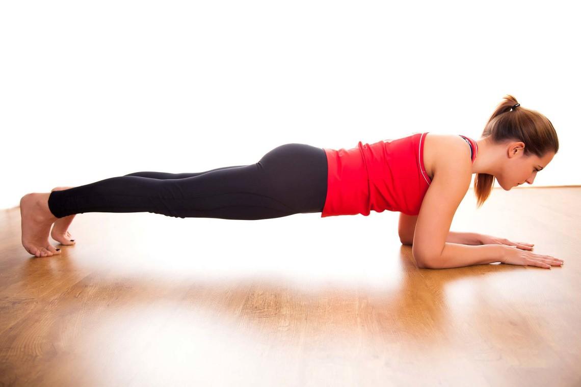 Plank para los abdominales