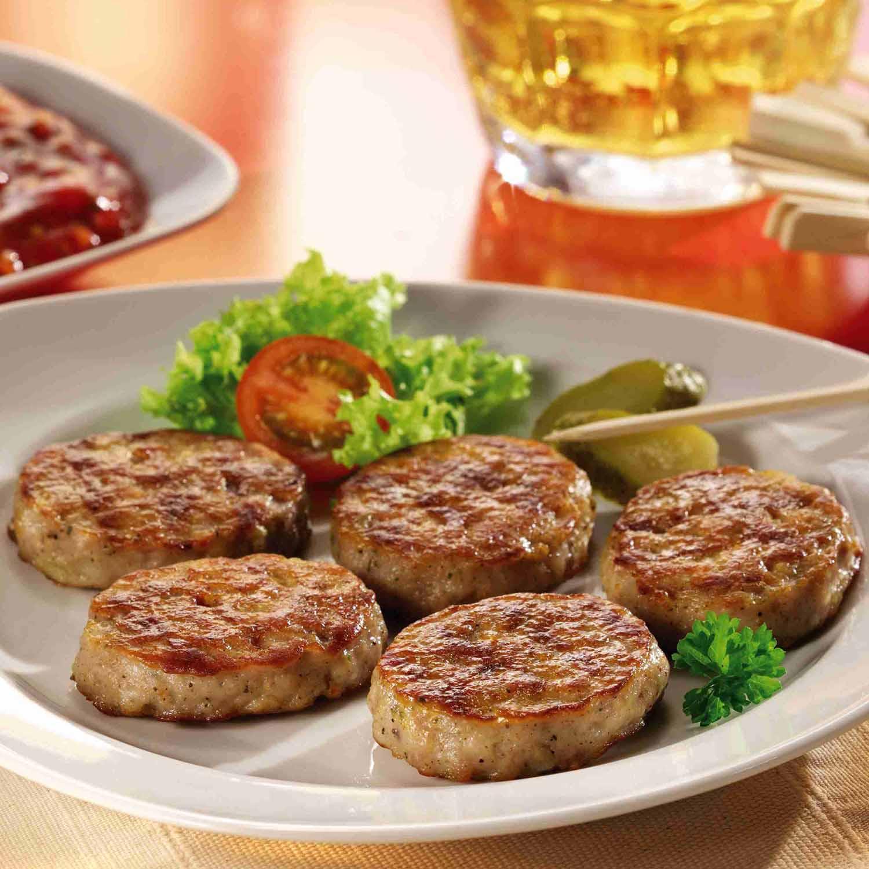 hamburguesas vegetales a la plancha