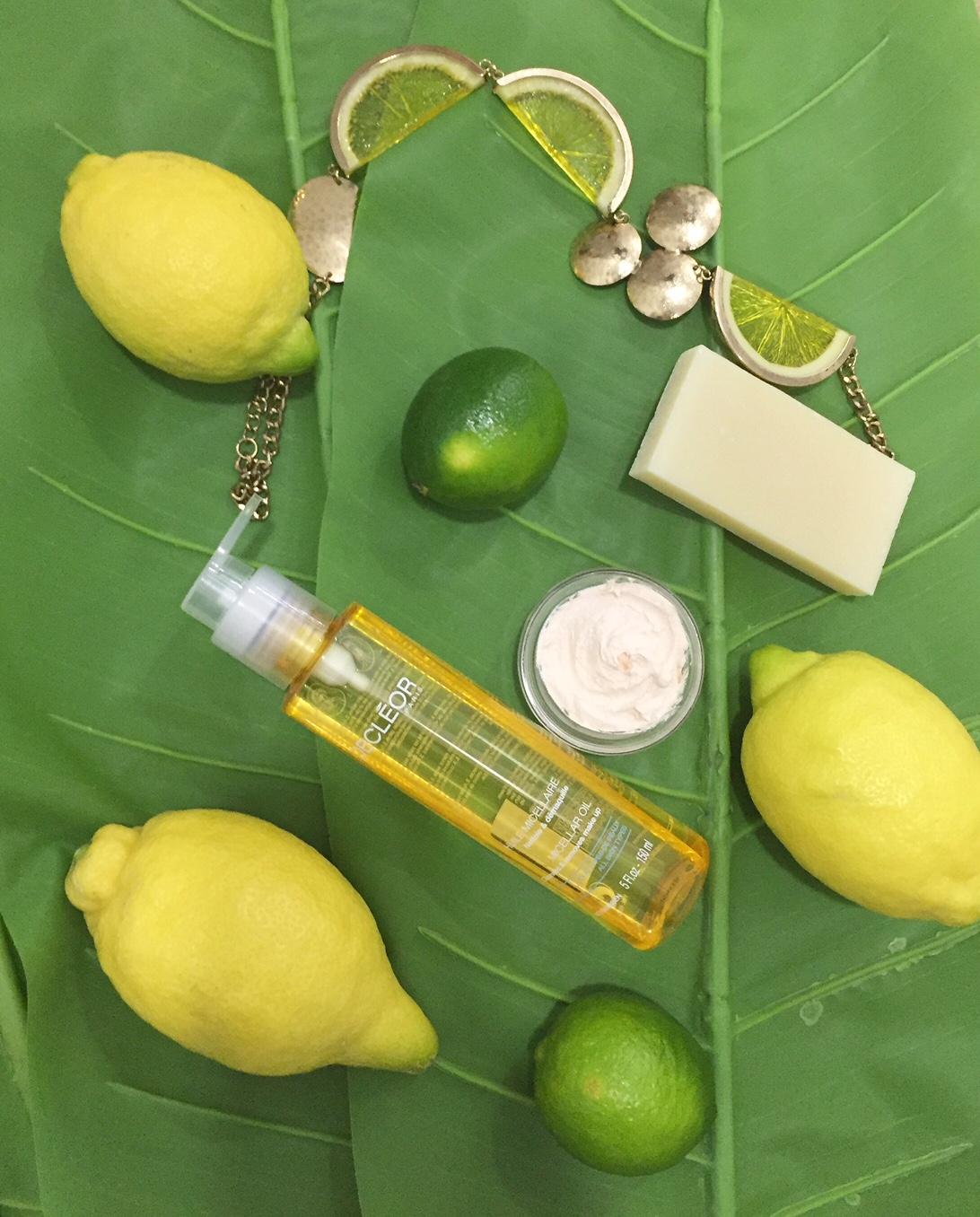 tratamiento facial de vitamina c en primavera en la clinica
