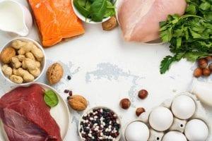 dieta de la proteina